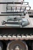 Военное транспортное средство с инструментами Стоковое Изображение RF
