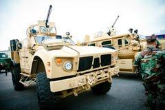 военное транспортное средство Стоковая Фотография