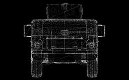 Военное транспортное средство Стоковая Фотография RF