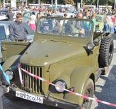 Военное транспортное средство GAZ-69 стоковое изображение