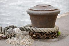 Военноморские веревочки Стоковое Изображение