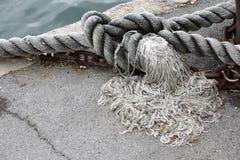 Военноморские веревочки Стоковое фото RF