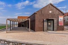 Военноморское или морское ядро музея Seixal Ecomuseu муниципального стоковое изображение rf