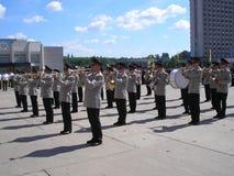 военнослужащий латуни полосы Стоковое Фото