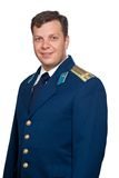 Военно-воздушные силы укомплектовывают личным составом воинскую русскую форму Стоковые Изображения