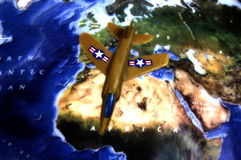 Военно-воздушные силы 4 стоковое изображение rf