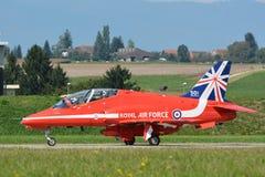 Военно-воздушные силы Великобритании - красные стрелки - RAF Стоковые Фото