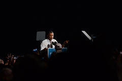 Военно-воздушные силы одно Barack Obama Кливленда Огайо Стоковое Фото