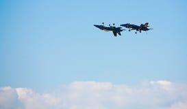 военно-морской флот голубых двигателей ангела Стоковое Изображение RF
