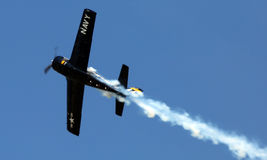 Военно-морской флот Warbird на airshow EAA AirVenture Стоковое фото RF