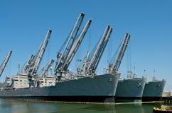 военные корабли Стоковое Изображение