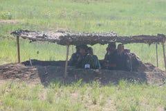 Военные учения в России Стоковые Изображения RF