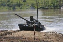 Военные учения в России Стоковая Фотография RF