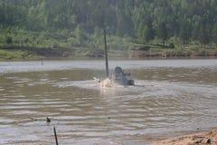 Военные учения в России Стоковые Фотографии RF