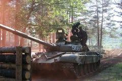 Военные учения в России Стоковое Фото