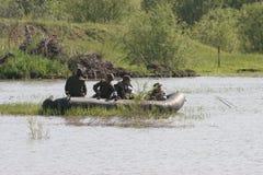 Военные учения в России Стоковая Фотография