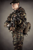 Военные Стоковое Изображение RF