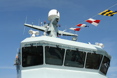 военный корабль военно-морского флота фрегата Стоковое фото RF