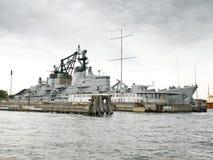 военный корабль Стоковые Изображения RF