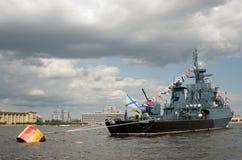 военный корабль Стоковые Фото