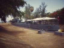Военный корабль принца Chumphon Стоковые Изображения