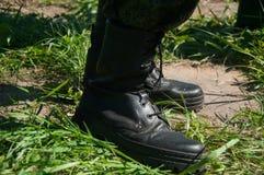 Военный лагерь Свободная минута от исследования стоковое фото rf