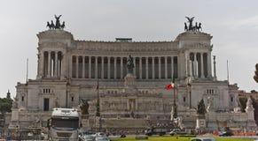 Военный мемориал в Риме Стоковое Фото