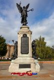 Военный мемориал Colchester стоковое изображение rf