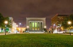 Военный мемориал в Балтиморе, Мэриленде Стоковое Фото