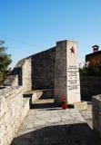 Военный мемориал в Сан Мишели Del Carso Стоковое Фото