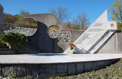 Военный мемориал в Palchisce Стоковое Фото