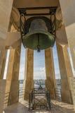 Военный мемориал колокола осадой, Валлетта, Мальта Стоковая Фотография
