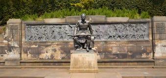 Военный мемориал - Эдинбург Стоковое фото RF