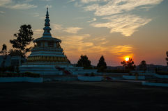 Военный мемориал Lao Стоковые Фото