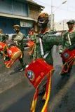 Военный оркестр армии Стоковые Фото