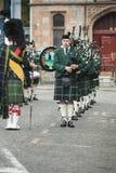 Военный оркестр трубы Huntly Стоковое Изображение