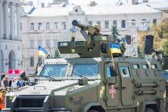 Военный парад в Киеве, Украине стоковые фото