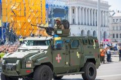 Военный парад в Киеве, Украине стоковые изображения