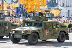 Военный парад в Киеве, Украине стоковое изображение rf