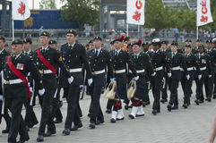 военный парад Стоковое фото RF