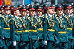 Военный парад в Москве, России, 2015 Стоковые Изображения RF