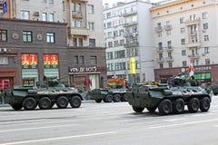 Военный парад в Москве стоковые фото