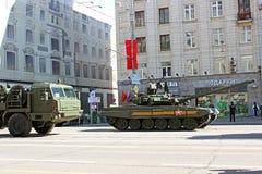 Военный парад в Москве стоковое изображение