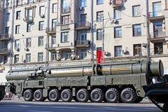 Военный парад предназначил к дню победы в Второй Мировой Войне дальше в m стоковые изображения