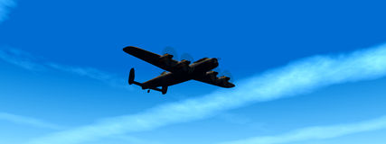 Военный самолёт 2 Стоковые Фото