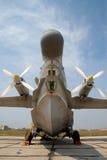 Военный самолет земноводное Beriev Be-12 Стоковые Изображения