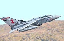 Военный самолет реактивного истребителя стоковые изображения
