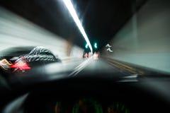 Вождение автомобиля Стоковая Фотография RF