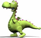 возбужденный дракон Стоковое Изображение RF