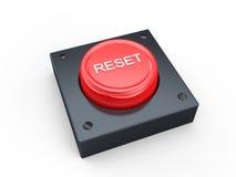 возврат кнопки Стоковая Фотография